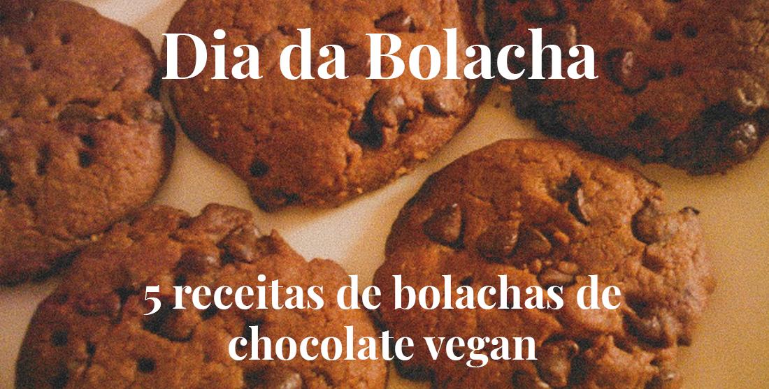 Bolachas de chocolate vegan: 5 receitas para o Dia da Bolacha