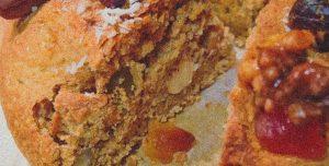 Bolo-rei e bolo rainha VEGANA