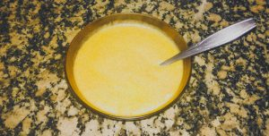 Sopa de brócolos e cenoura VEGANA