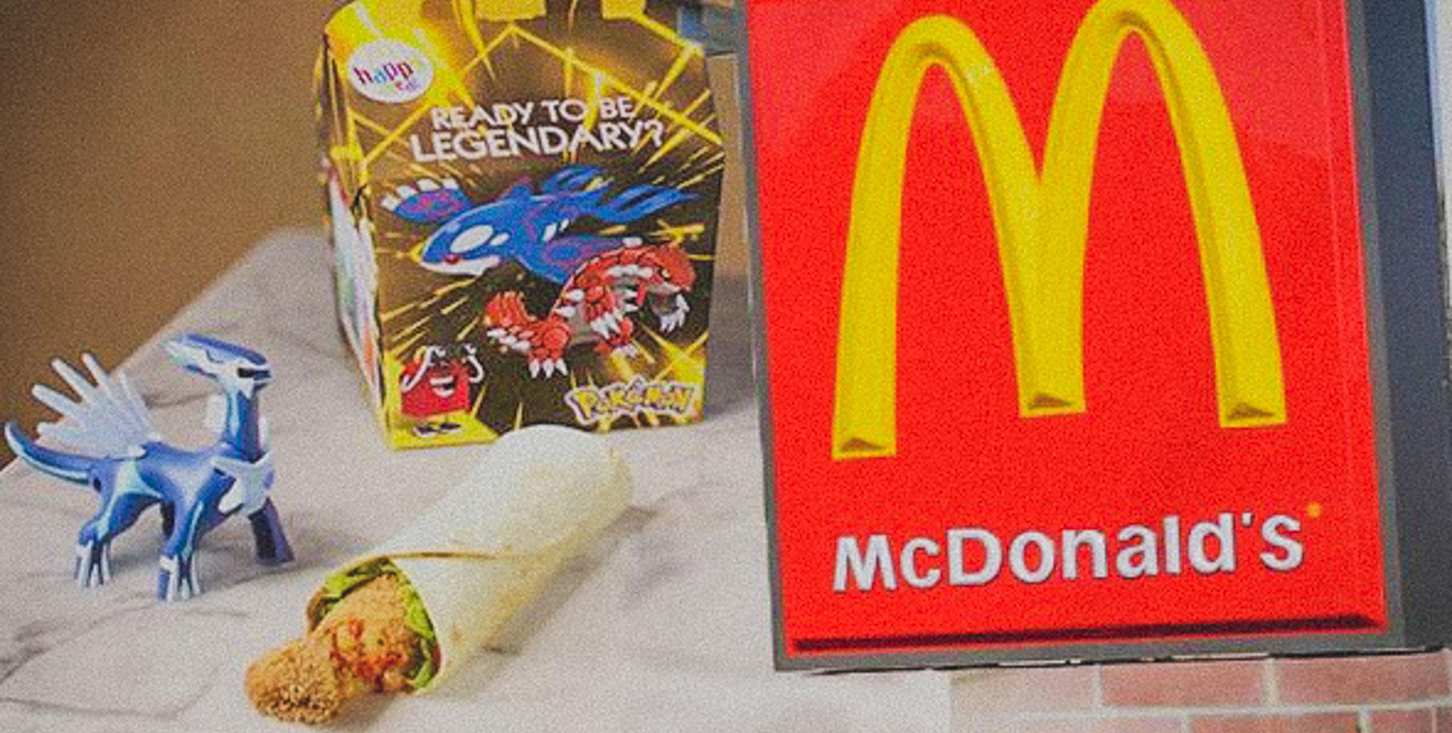 McDonald's lança o primeiro Happy Meal vegan