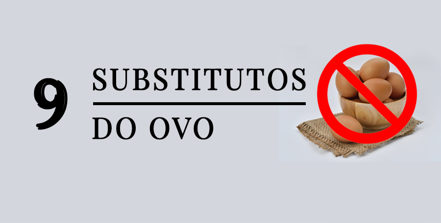 substitutos do ovo