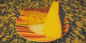 Bolo de laranja vegan para a sua sobremesa