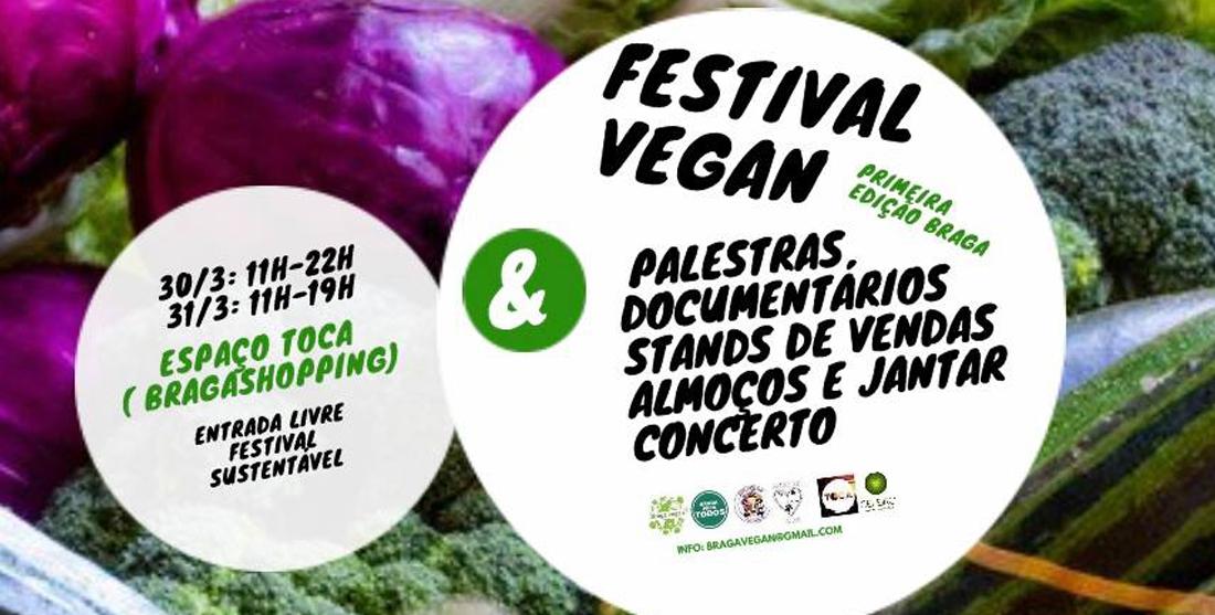 Braga Vegan: festival vegan em Braga