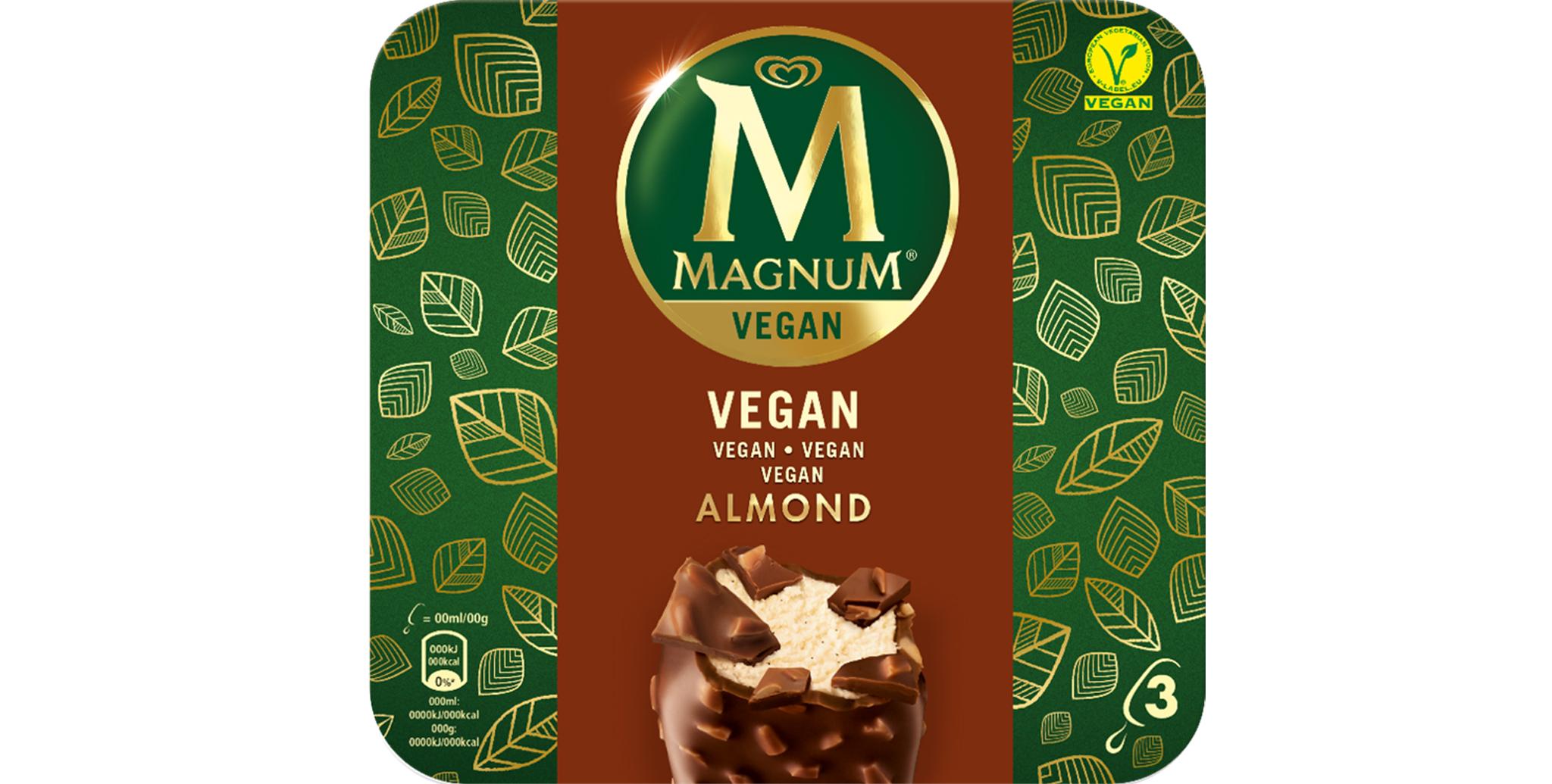 O primeiro Magnum vegan à venda em Portugal!