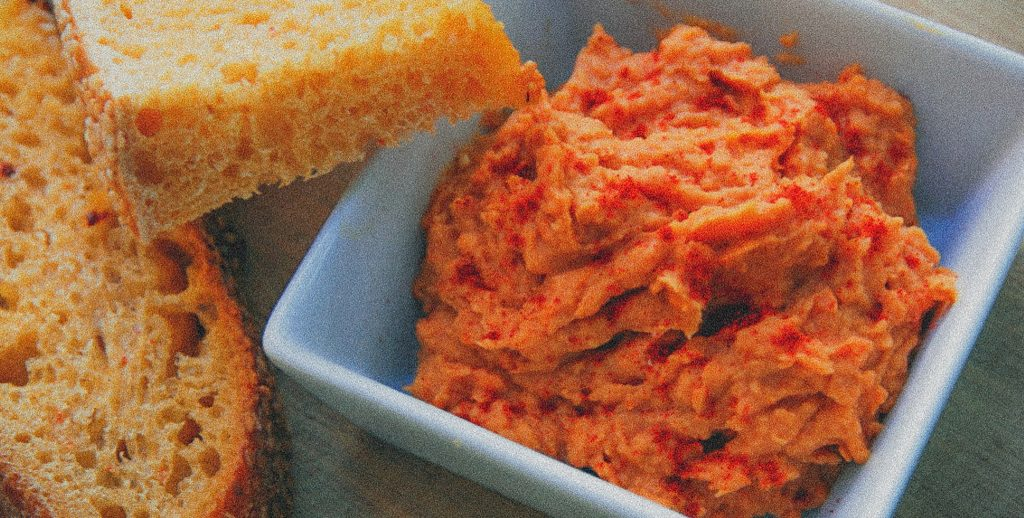 paté vegano de tomate seco
