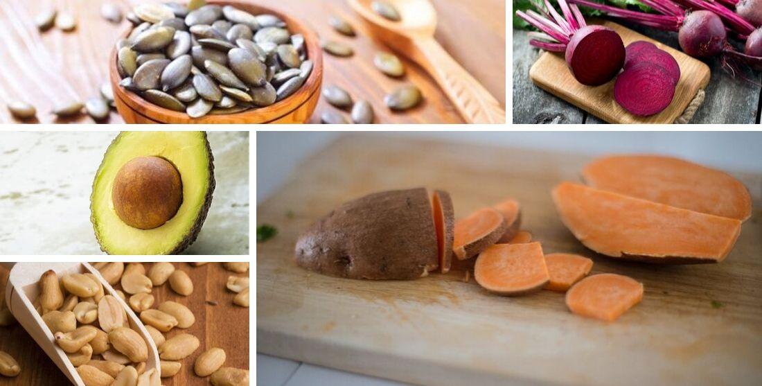 Alimentos vegetais ricos em potássio