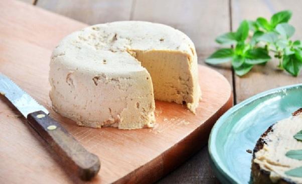 Receita de queijo vegan