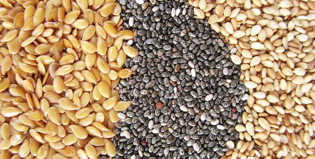 Benefícios das sementes para a nossa saúde