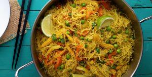 Noodles de vegetais